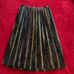 Anthro Pleated Skirt